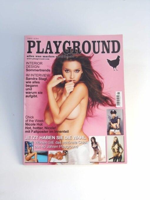 Playground Magazin für Männer